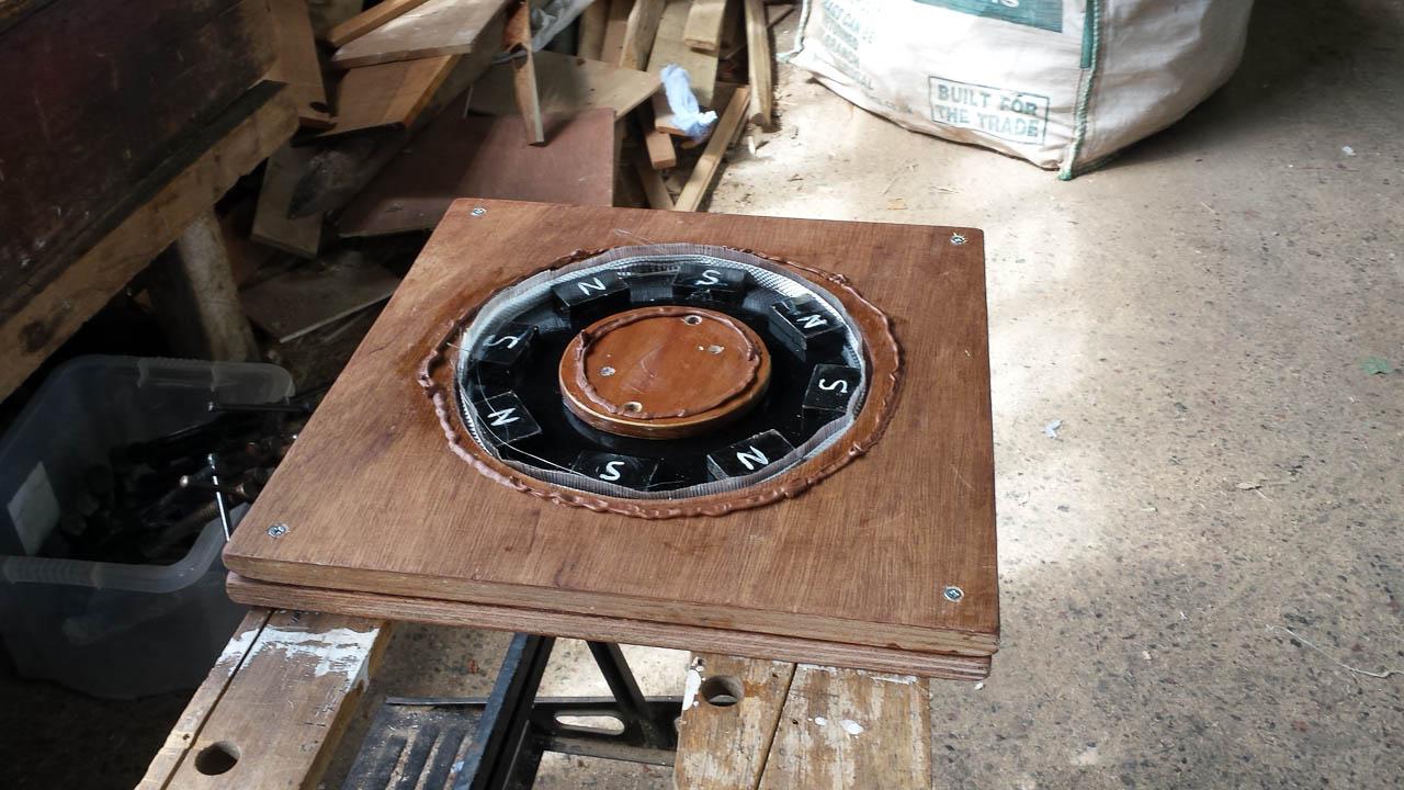 DIY Wind Turbine Hugh Piggott Design Construction, Magnet Rotor In Mould