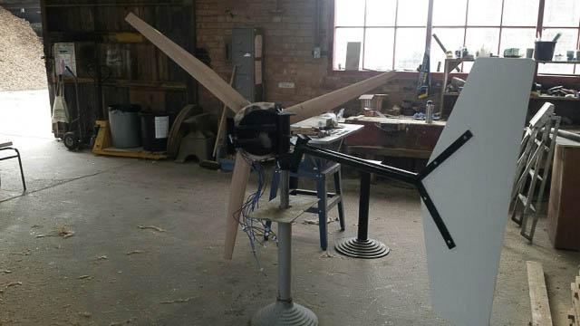 DIY Wind Turbine Hugh Piggott Design Construction, Dry Fit