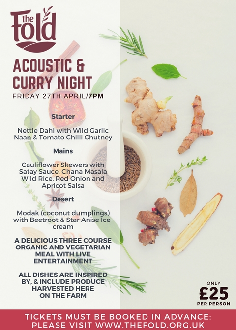 Acoustic & Curry Night