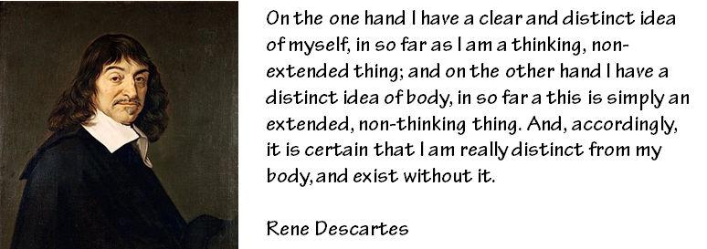 Descartes & the mind-body problem