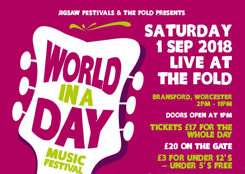 World In A Day Music Festival