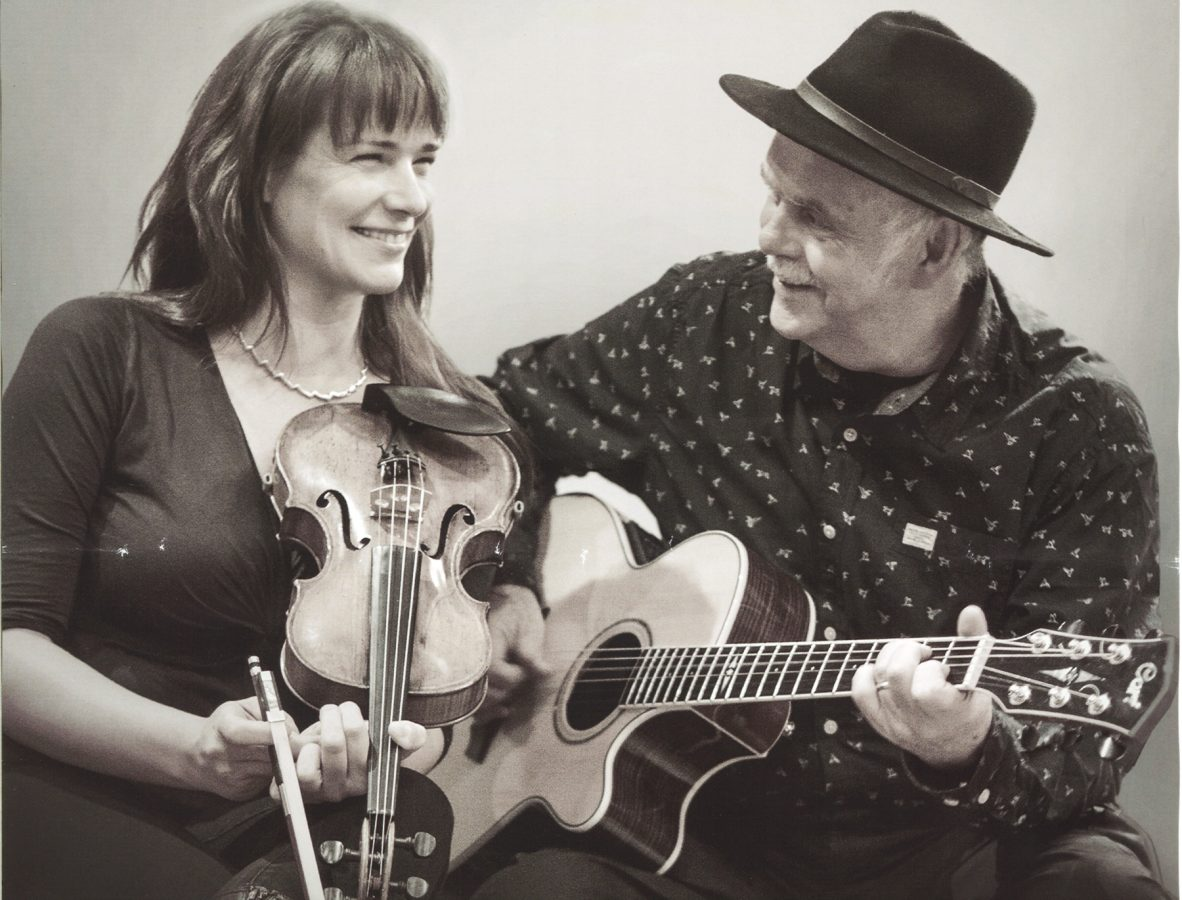 Dave Peabody and Regina Mudrich