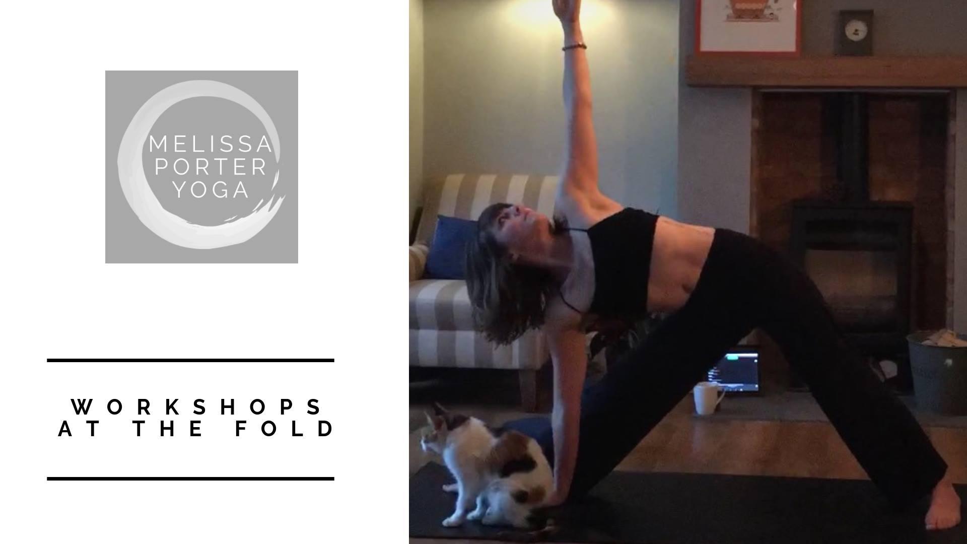 melissa porter home yoga workshop