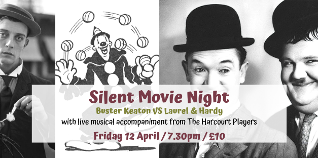 Silent Movie Night: Buster Keaton vs Laurel & Hardy