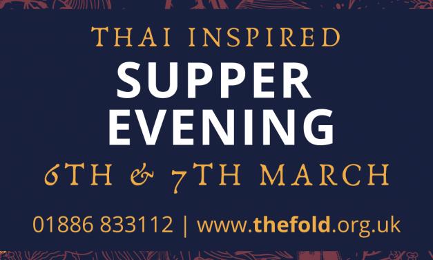 Thai Inspired Supper Evening
