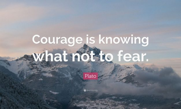 Cafe Philosophique: Courage