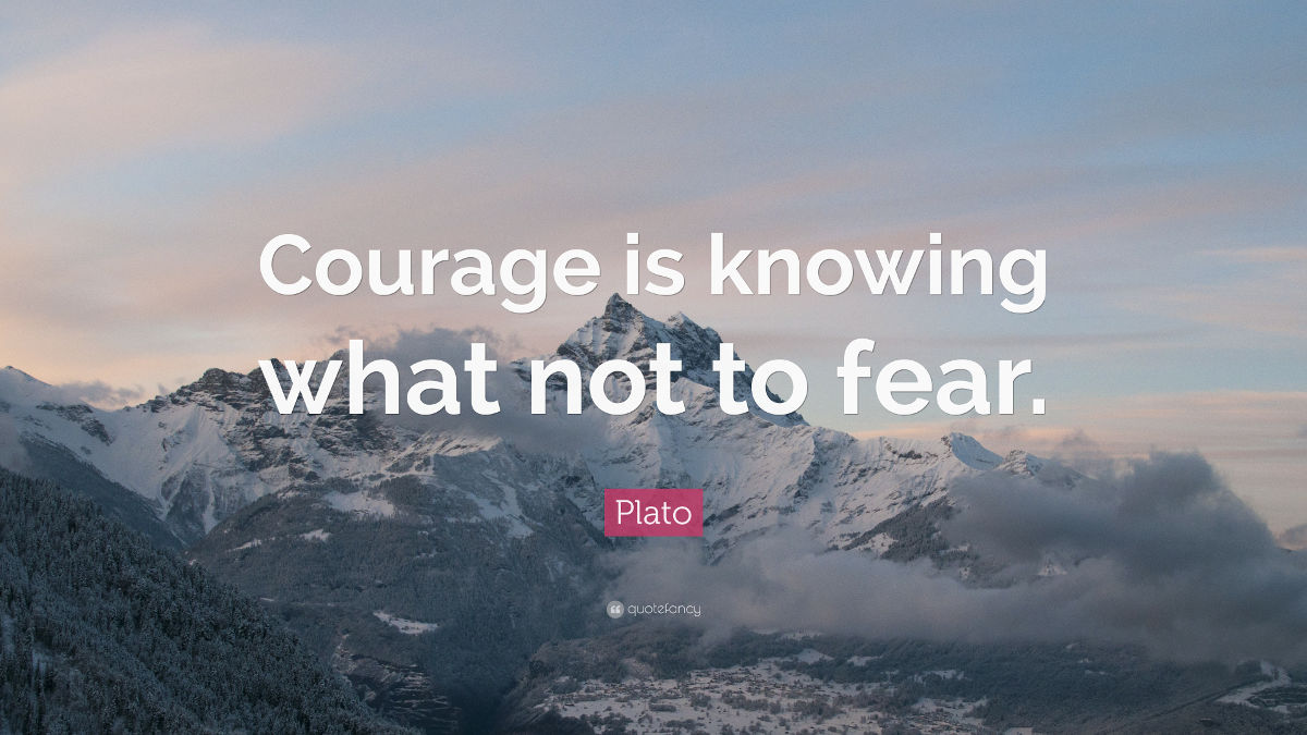 Philosophy of courage