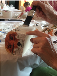 Introduction to Painting Furniture and Simple Decoupage Workshop