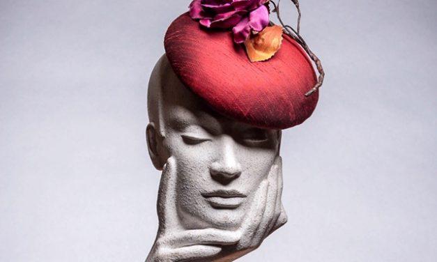 Silk Button Hat with Silk Rose Workshop